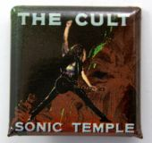 The Cult - 'Sonic Temple' Square Badge